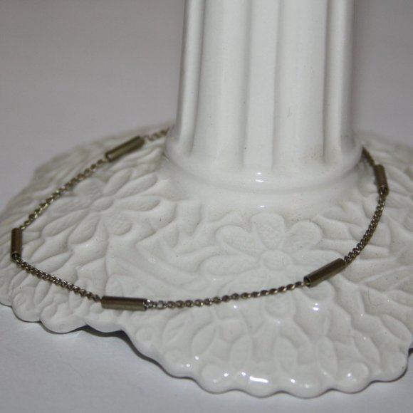 """Vintage silver bracelet 7.25"""""""